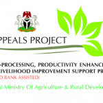 LAGOS STATE AGRO-PROCESSING, PRODUCTIVITY ENHANCEMENT AND LIVELIHOOD IMPROVEMENT SUPPORT (APPEALS) PROJECTINVITATION FOR BIDS FOR CONSTRUCTION OF AGGREGATION AND COTTAGE PROCESSING CENTERS IN LAGOS STATE, NIGERIA